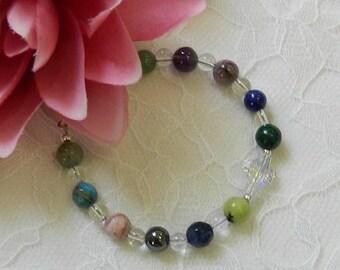 BLOOD PRESSURE Bracelet,Blood Pressure Healing bracelet,Blood Pressure Gemstone bracelet,Gemstone jewelry,Healing jewelry