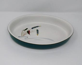 Denby Greenwheat Oval Sole / Oven / Serving Dish 1950's