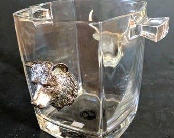 Arthur Court Safari Ice Bucket