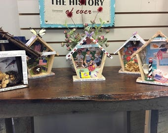 The HeArt of Home Wall Decor - Birdhouse to Celebrate Veterans Day