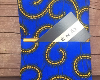 Slim Wallet - Thin Wallet - Black Wallet  Bi-fold Wallet Business Card Holder Handmade Wallet  minimalist wallet