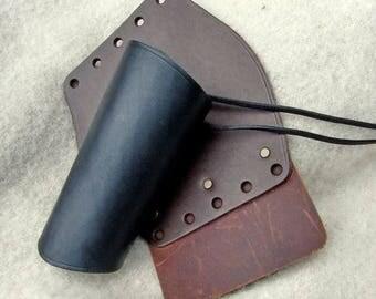 Leather Armguard - long - [03 Schü-L]