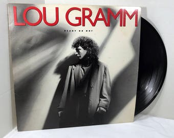 Lou Gramm Ready Or Not vinyl record 1987 VG+ Pop Rock