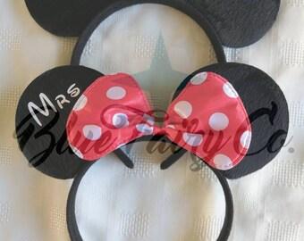 Mr & Mrs Mouse Ears Set