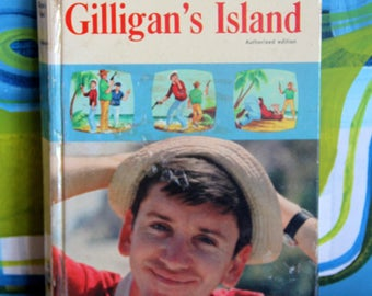 Vintage GILLIGAN'S ISLAND 1966 Whitman Book