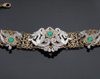 Game of Thrones Jewelry   Dragon Jewelry   Dragon Choker   Pirate Jewelry   Fantasy Jewelry   Dawn Santucci   Metal di Muse   metaldimuse