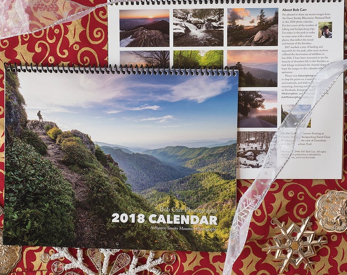 Pack of 5 - 2018 Smoky Mountains Photo Calendar