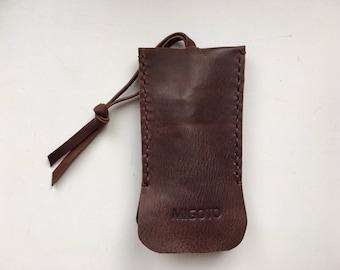 Leather Key Holder, Leather Key Case.