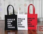 "Set of 3 Cloth Bags for 12"" Fashion Dolls"