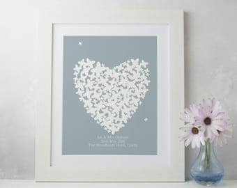 Personalised Wedding Gift, Wedding Gift for the Couple, Unique Wedding Gift, First Anniversary Gift, Wedding Present