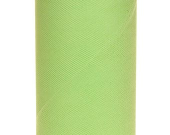 Mint Tulle Roll 6in x 75ft  (25 yards)