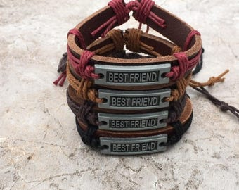 Best Friend Bracelet, Best Friend Gift, Friendship Bracelet, Friend Gift, Gift for Him, Friendship Gift, Gift For Her CH-176