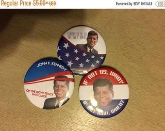 ON SALE JFK Campaign Button