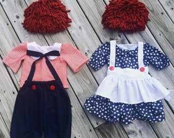 Raggedy Ann or Andy Costume