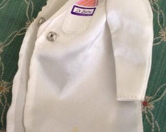 Vintage Dr. Barbie White Coat