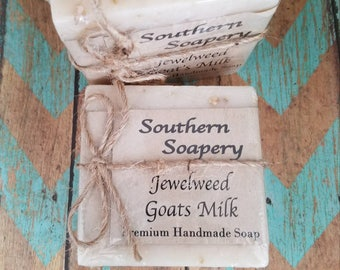 Jewelweed Goat's Milk Soap *Sale*