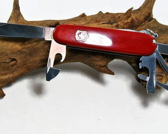 Vintage Victorinox, Swiss Army Knife, Multitool, Pocketknife, Vintage Knife, Folding Knife, Pocket tool, Collectibles, Fishing Knife,