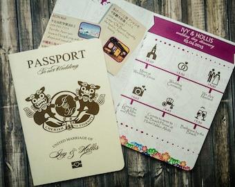 passport invitation template