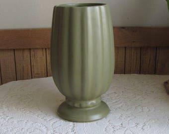 Vintage Green McCoy Planter Floraline Florist Ware Sage Pottery #495 USA