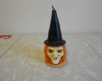 Gurley Halloween Witch Candle