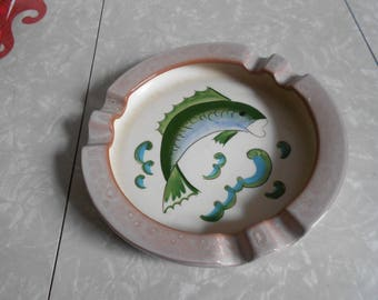 Stangl Ashtray with Fish