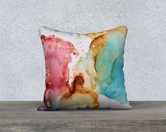 """18 x 18"""" Pillow case - Explosion"""