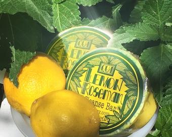 Lemon & Rosemary Purifying Big Sudsy Soap Bar
