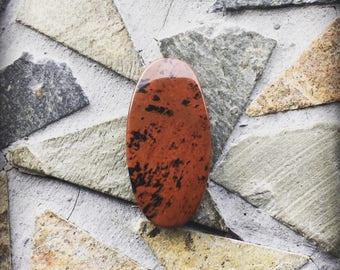 Mahogany Obsidian Gemstone Pendant