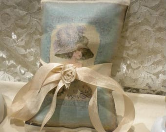 Lavender Sachet Vintage French Woman