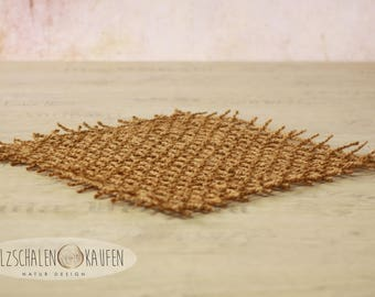 Coarse coconut mat coconut ceiling carpet natural fibre newborn photo props Babyshooting
