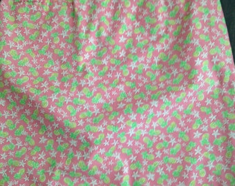 Lilly Pulitzer Woman's Pineapple Theme Skirt