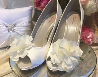 Bridal Shoes - Crystal Embellished