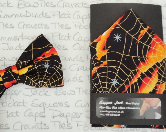 Featured listing image: Pocket square, Halloween pocket square