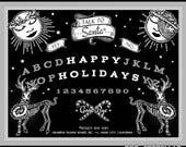HOLIDAY OUIJA //  Spooky Holiday Cards