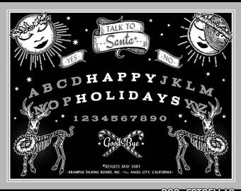 HOLIDAY OUIJA //  Spooky Holiday Cards