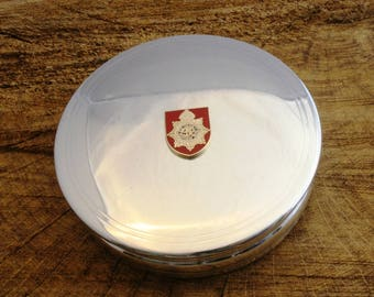 Royal Army Service Corp Shield Trinket Jewellery Pewter Box Royal Army Gift ME35