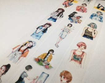 Sweet Girl Washi tape sample~2