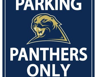 11x17 University of Pittsburgh Reserved Parking Magnet