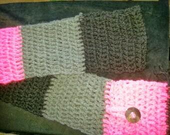 Multi colored scarf by Ewekneek Enterprises