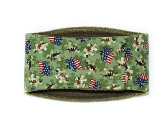 Camo Male Dog Belly Band, dog diaper, belly bands by trina, dog wrap