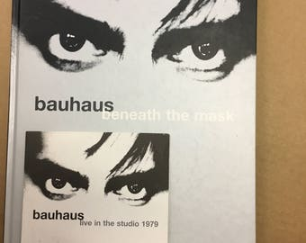 Bauhouse Beneath The Mask Live in the Studio 1979, CD plus Book, Mint!