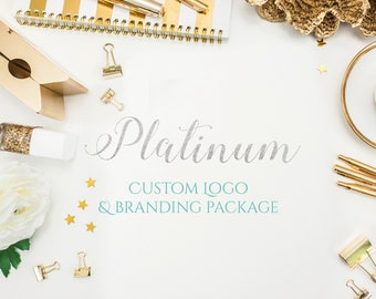 Platinum Custom Logo and Branding Package - Custom Branding - Branding Kit - Logo Design Branding - Business Card Design - Business Cards