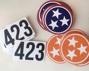 "Tennessee 3"" Tristar Decal OR 423 Decal"