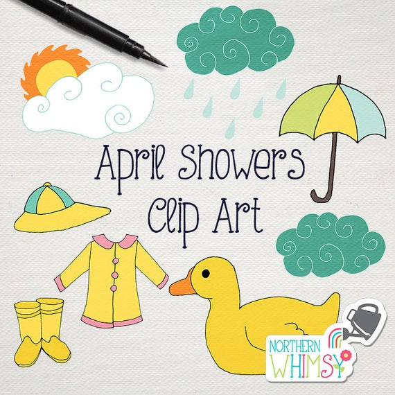 clipart spring showers - photo #37