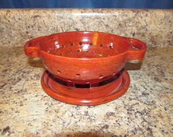 Small Colander/Berry Bowl (Red)
