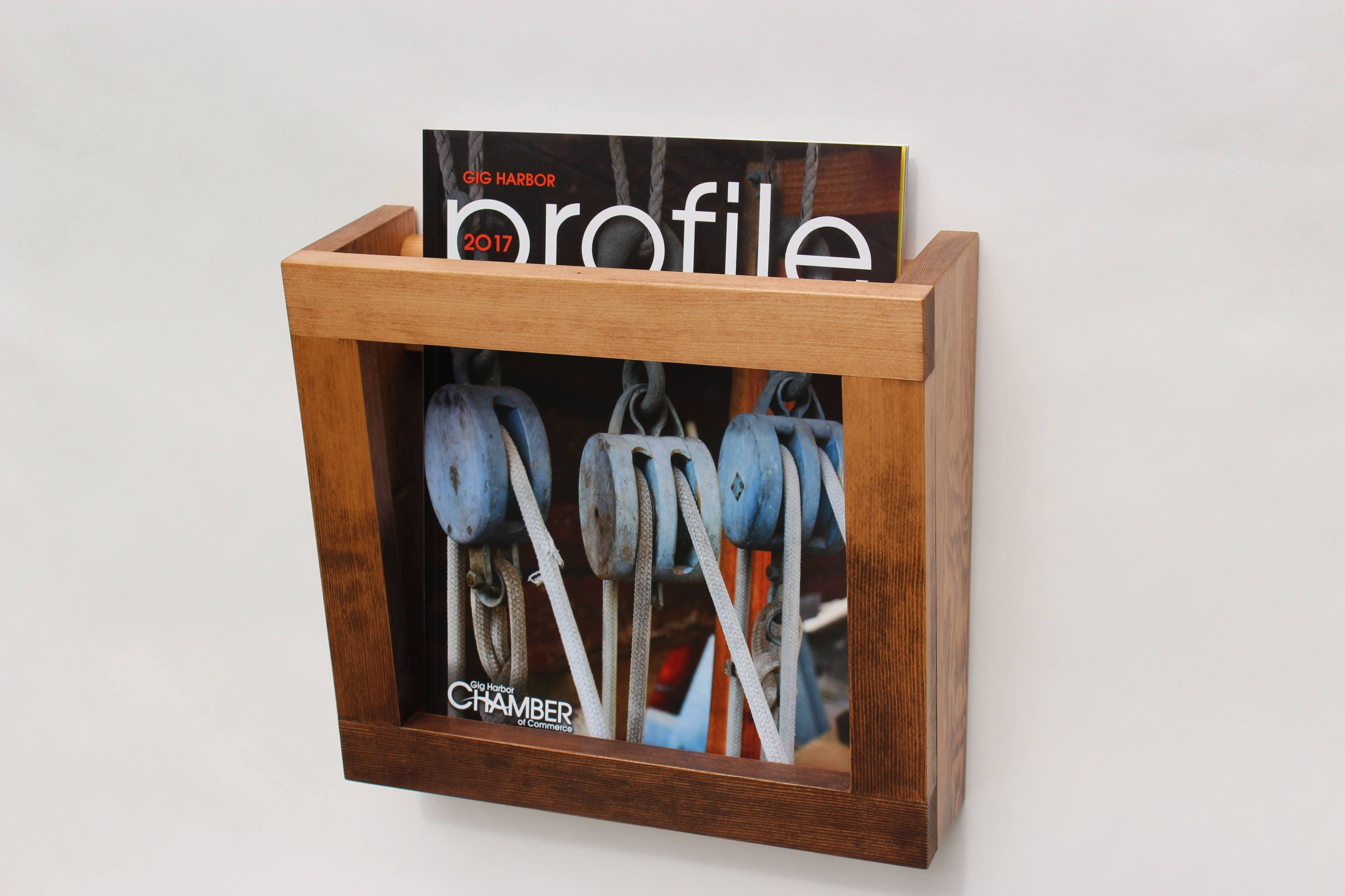 Wall Hanging Magazine Rack wall hanging wooden magazine rack modern minimalistic book