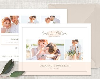 Wedding Photography Marketing Flyer Template - Wedding Photography Marketing Card, Photography Marketing Template, Photoshop Template
