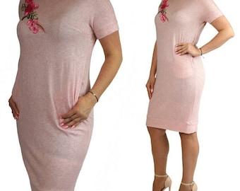 Berry Summer Dress Regular and Plus Size 14 16 18 20 22 24