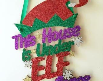 Elf surveillance sign