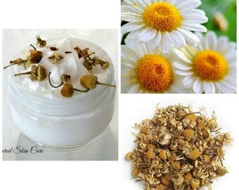 Chamomile Whipped Skin Wash - Acne Scars , Soothing, Softens, moisturizes, Flaky skin, Wrinkles, Inflammation,Natural skin lightener